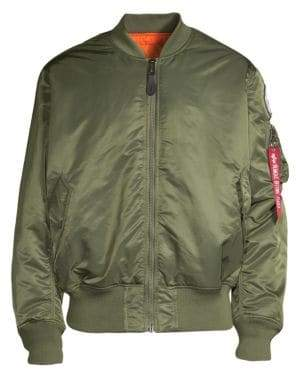 Alpha Industries MA-1 Coalition Forces Flight Reversible Bomber
