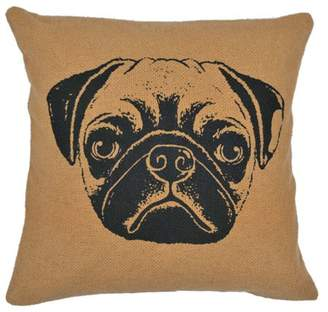 """VHC Brands VHC Classic Country Holiday Pillows & Throws - Dog Pillow 16"""" x 16"""" Pillow"""