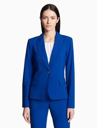 Calvin Klein luxe single button jacket