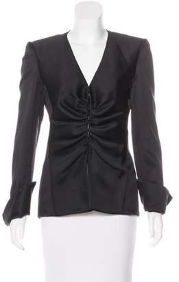 Giorgio Armani Structured Silk Jacket