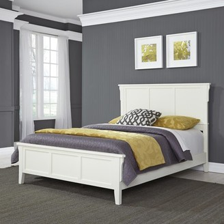 Home Styles Arts & Crafts White Queen Bed