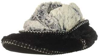 Dearfoams Women's Faux Fur Foldown Boot Slipper