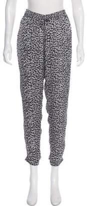 MICHAEL Michael Kors Skinny Printed Jogger Pants