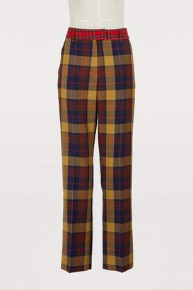 Jour/Né Check print pants