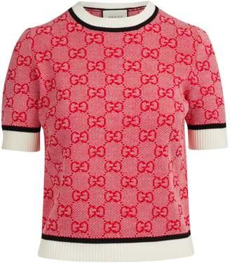 Gucci GG wool blend jumper