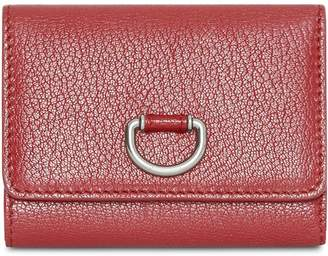 Burberry Small D-ring Leather Wallet