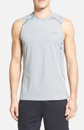 Under Armour 'Raid' HeatGear(R) Fitted Tank Top