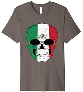 Mexico Skull Flag T-shirt For Men's