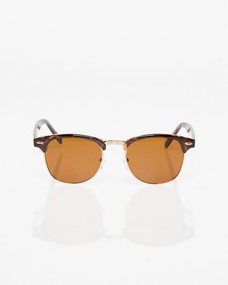 Le Château Tortoise Plastic Sunglasses