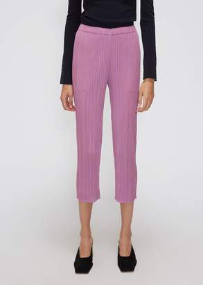 Pleats Please Issey Miyake Playing Stripe Skinny Pant