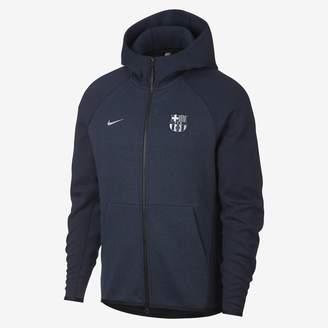 Nike FC Barcelona Tech Fleece Men's Hoodie