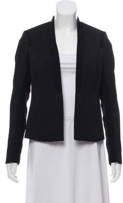 Rebecca Taylor Textured Open Front Blazer