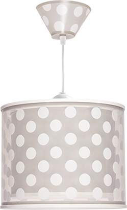 Dalber 61002E Dots Hanging Lamp, Brown/White