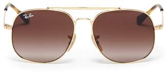 Ray-Ban 'RJ9561' metal aviator kids sunglasses