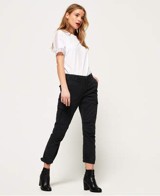 Superdry Girlfriend Cropped Cargo Pants