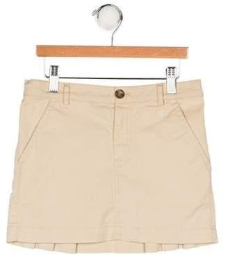 Burberry Girls' Pleated Skirt