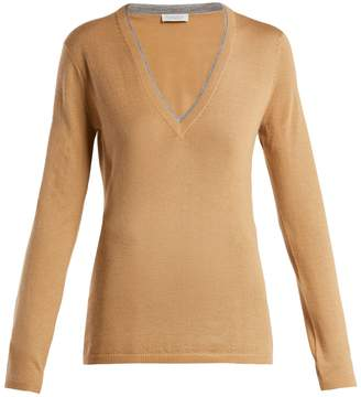 GABRIELA HEARST Lorenco cashmere and silk-blend sweater