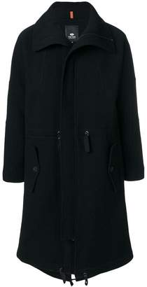 Tom Rebl zip up trench coat