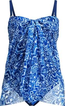 Ralph Lauren Convertible Print Swimsuit