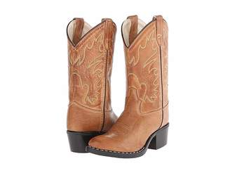 Old West Kids Boots J Toe Western Boot (Toddler/Little Kid)