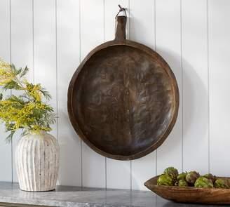 Pottery Barn Hanging Dough Bowl Wall Art