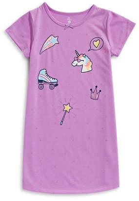 Petit Lem Unicorn Swag Nightgown
