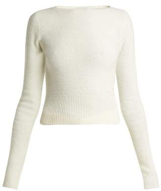 Lemaire Wool Sweater - Womens - Cream
