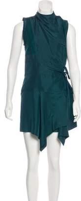 Isabel Marant Silk Knee-Length Dress