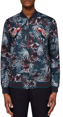 Ted Baker Parma Printed and Embroidered Jacket