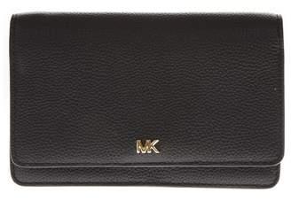 MICHAEL Michael Kors Black Leather Shoulder Bag