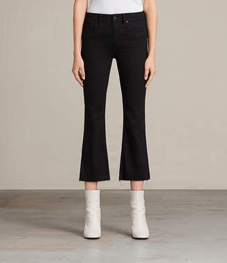 AllSaints Heidi Cropped Flare