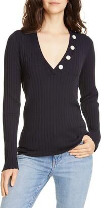 Joie Anastasia V-Neck Sweater