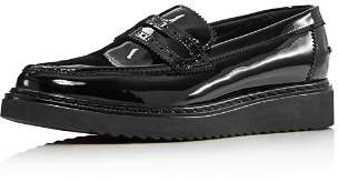 Kurt Geiger Women's Kala Patent Leather Platform Loafers