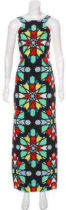 Opening Ceremony Geometric Print Maxi Dress