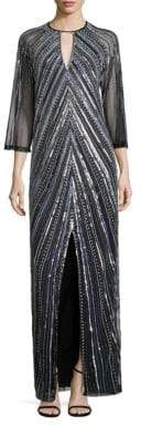 Parker Sherri Sequined Gown