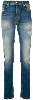Diesel faded bleached jeans