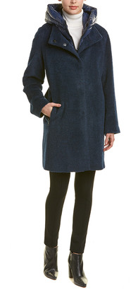 Trina Turk Autumn Wool & Alpaca-Blend Coat