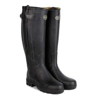 Women's Black Chasseur Boots