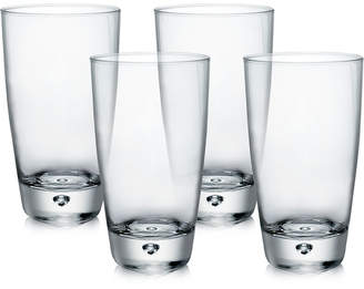 Bormioli Luna Set of 4 Highball Glasses