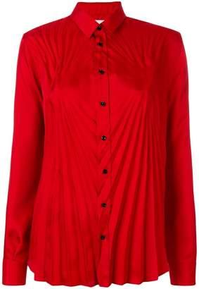 Maison Margiela pleat effect shirt