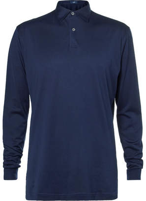Dunhill Links - Cotton-Jersey Golf Polo Shirt