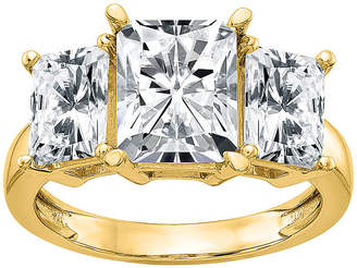 FINE JEWELRY True Light Womens 2 CT. T.W. Lab Created White Moissanite 14K Gold Engagement Ring
