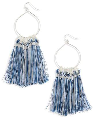 BP Metal Loop Fringe Earrings