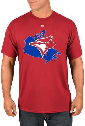 Majestic Toronto Blue Jays Canada T-Shirt