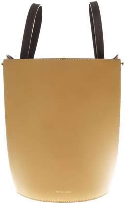 Danse Lente Camel Leather Bucket Mini Bag