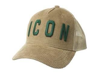 DSQUARED2 Icon Corduroy Baseball Cap