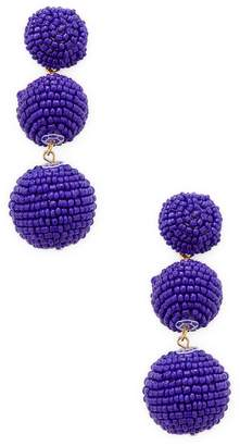 Kenneth Jay Lane Women's Seed Ball Statement Earrings