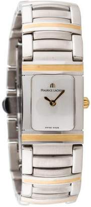 Maurice Lacroix Two-Tone Miros Integral Quartz Watch