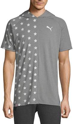 Puma Men's Fourth of July Star Hooded Tee