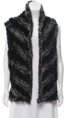 Marc by Marc Jacobs Wool & Fur-Blend Cardigan